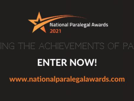 National Paralegal Awards 2021
