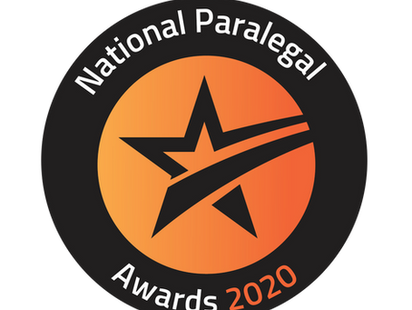 National Paralegal Awards 2020 winners celebrate with virtual ceremony