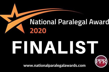 National Paralegal Awards 2020 – Finalists Announced!