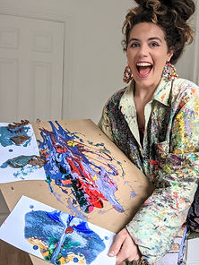 Let's Pump Up The Paint Party People: Positivity Art Workshop with Sarah Trotter