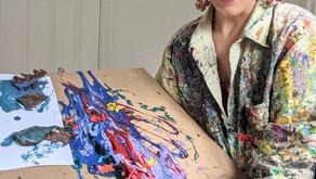 Let's Pump Up The Paint Party People: Positivity Art Workshop with Sarah Trotter