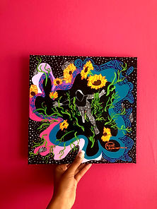 Painting the beauty and vulnerability of blackness and nature: LTTS Interviews Artist Elilou