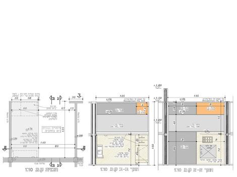 תכנון מחיצות open space למוקד טלפוני