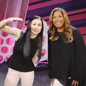 Melody Yand and Queen Latifah