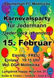 15. Feburar 2020: Kinderkarneval & Sportlerball für Jedermann