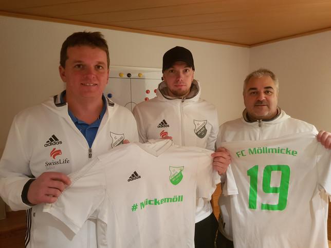 Neues Konzept mit bewährten Gesichtern  - FC Möllmicke verlängert mit Nico Stettner