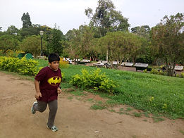 Smiling Angel - Aryan - Runs 7km Everyda