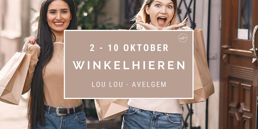 Winkelhieren 2 tem 10 oktober - Avelgem - 10% korting