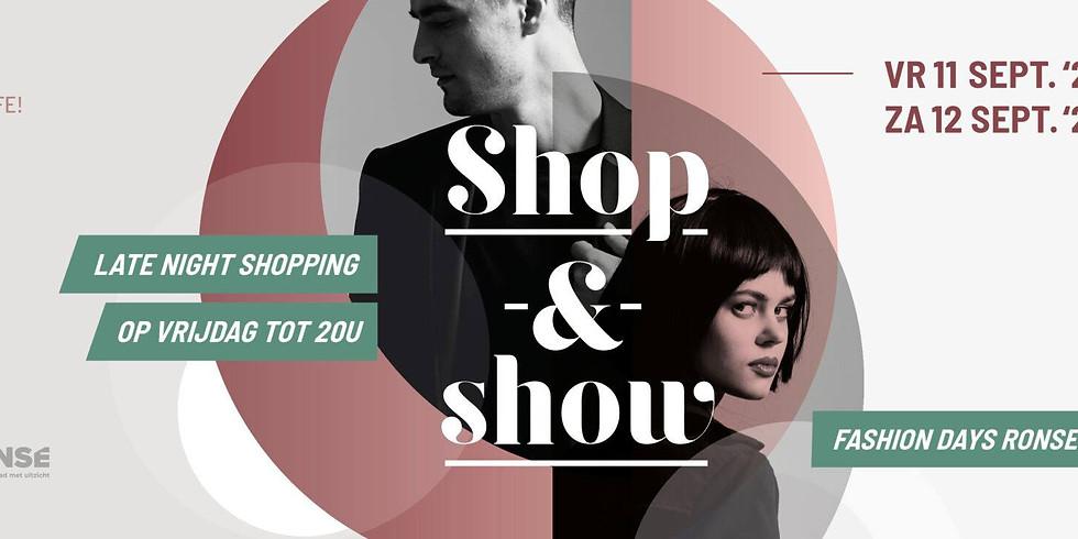 Shop & Show - Zaterdag