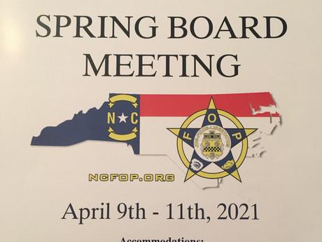 2021 NC FOP Spring Board Meeting - Durham, NC