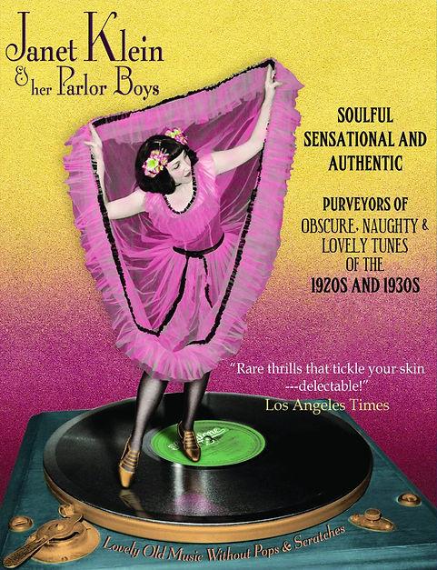Janet Klein Parlor Boys 1920s Jazzville