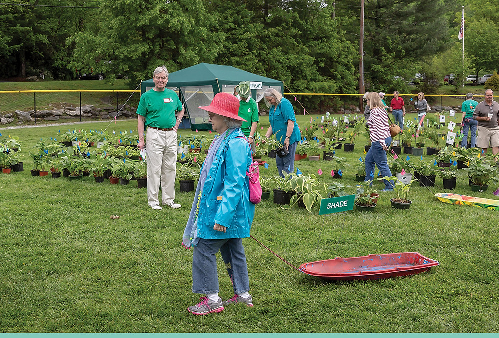 The Mountain Garden Club's Plant Sale, set for May 25, is a marvelous way to preserve the unique beauty of the Highlands-Cashiers Plateau.