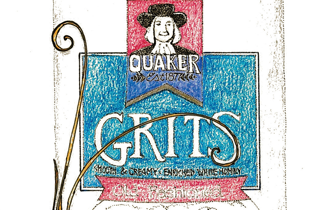Donna's grits-induced rhapsody is jarred by her inclusion of strawberry compote.  Still, it was the right decision.