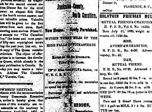 The Naming of Glenville