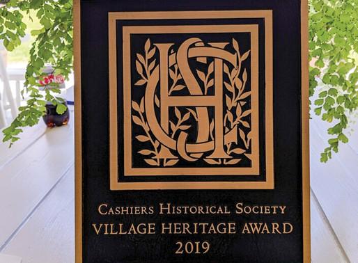 The Village Heritage Award