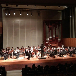 Instagram - #concerthall #philharmonic #goodshow  #CUHK #CU  #orchestra #finemusic  #Beethoven #symp