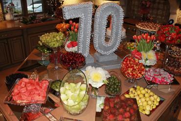 Fruit Table (Honey Dew and Rambutan and More - Main Focus)