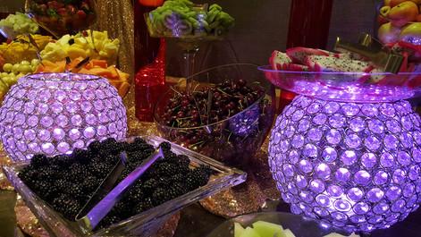 Blueberry - Cherry - Drgon Fruit