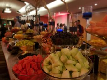 Fruit Table (Honey Dew and Watermellon - Main Focus)