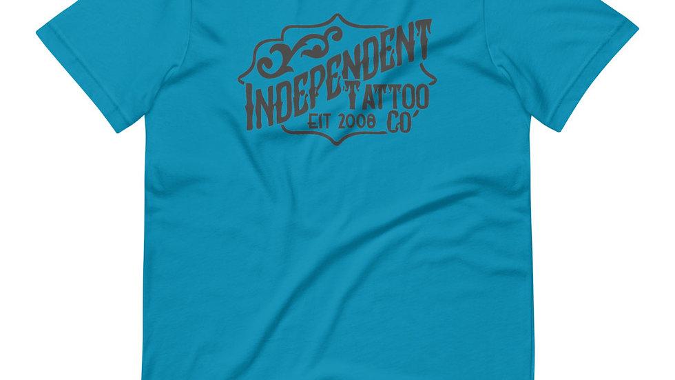 Independent Tattoo Company  Shop Logo Short-Sleeve Unisex T-Shirt Spring 2021