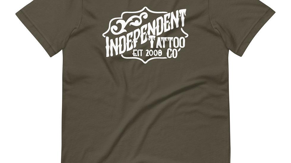 Independent Tattoo Company Logo Short-Sleeve Unisex T-Shirt Spring 2021