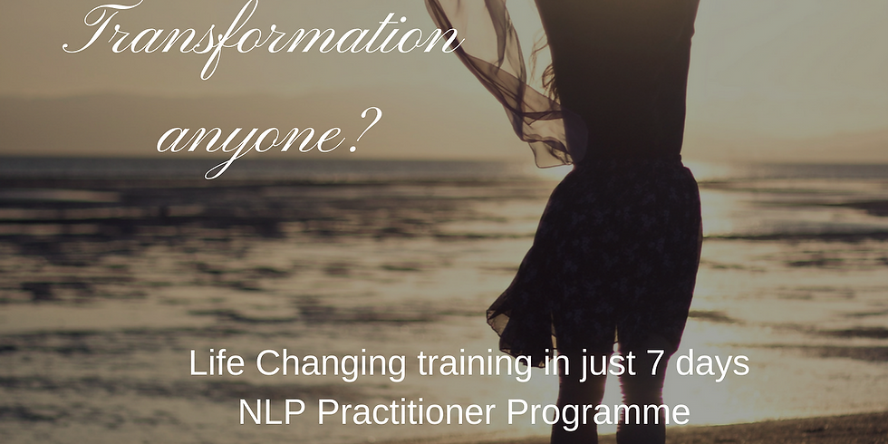 Certified NLP Practitioner Programme