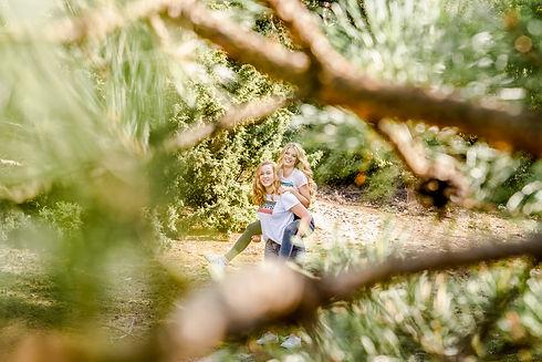 gezellige en spontane fotoshoot in Drenthe
