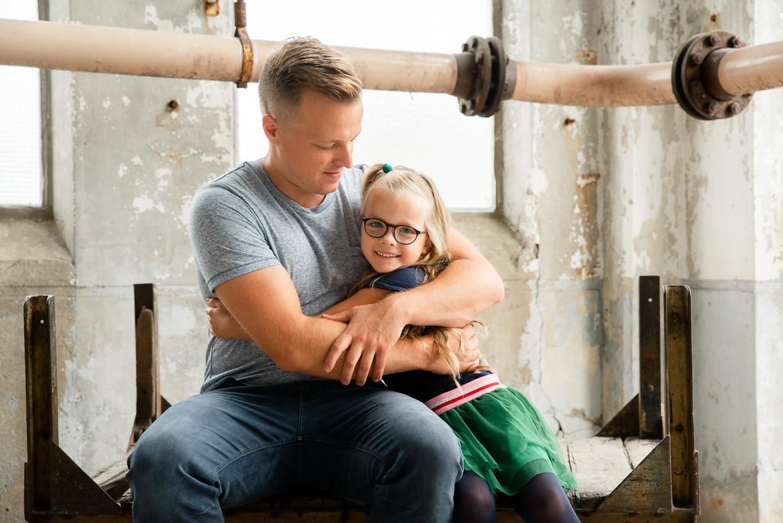 Jennifer Snippe Fotografie - vader dochter shoot drenthe