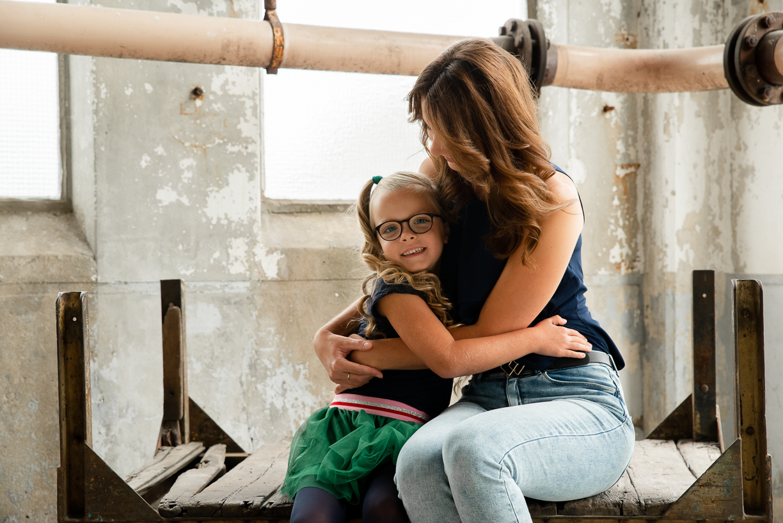 Jennifer Snippe Fotografie - moeder en dochter shoot