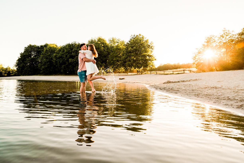Jennifer Snippe Fotografie - romantische warme shoot hoogeveen eo