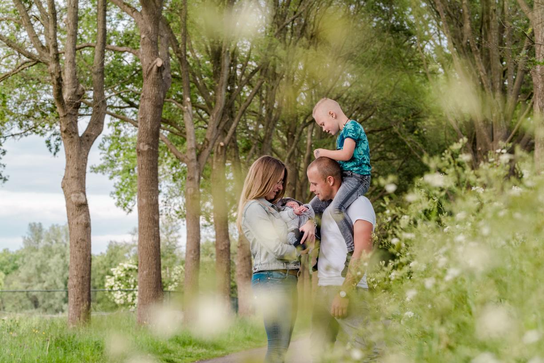 Jennifer Snippe Fotografie - gezinsshoot in drenthe en overijssel