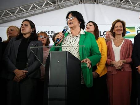 MAIS PROTEÇÃO PARA A MULHER! MINISTRA DAMARES INAUGURA CASA DA MULHER BRASILEIRA EM SÃO PAULO!