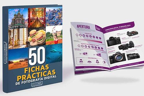 50+ Fichas prácticas para fotografía digital