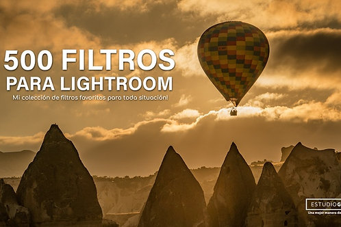 Pack de 500 filtros para Lightroom
