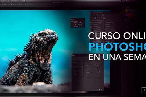 Aprende Photoshop en una semana! Curso para principiantes 100% práctico.