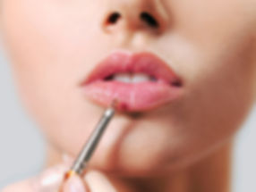 Perfect pout with sheer lip gloss