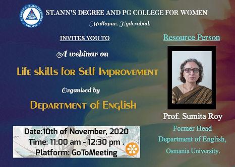 English depratment life skills 10-11-202