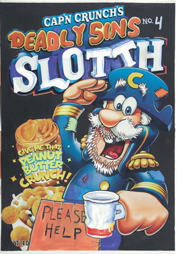 Jani Leinonen- Cap'n Crunch's Deadly Sins No. 4 (Sloth)