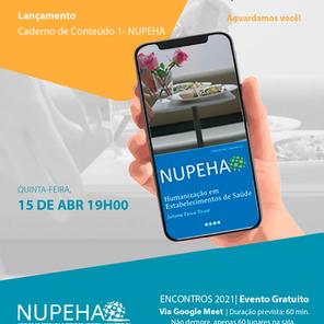 NUPEHA LANÇA SEU PRIMEIRO CADERNO DE CONTEÚDO EM EVENTO ONLINE