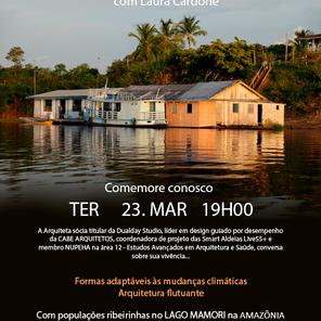 Meet com Laura Cardone em Comemoração ao Dia Mundial da Água