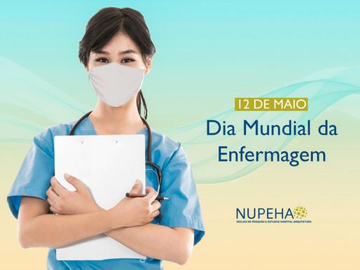12 de maio é o Dia Mundial da Enfermagem