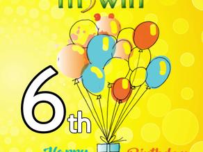 Happy 6th Anniversary !!!