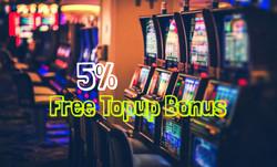5% Topup Bonus