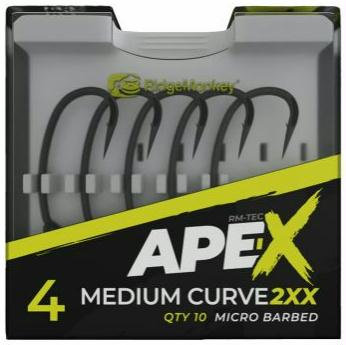 RidgeMonkey - Anzuelos Ape-X Medium Curve 2XX