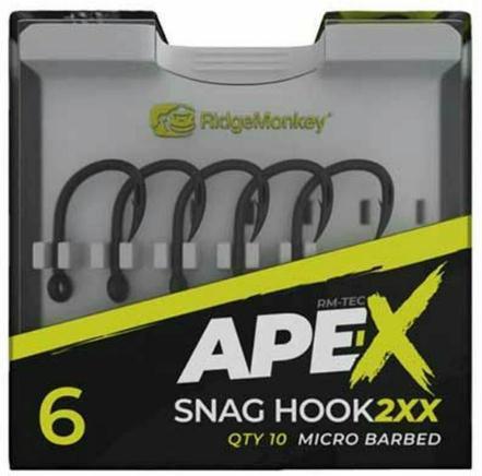 RidgeMonkey - Anzuelos Ape-X Snag 2XX