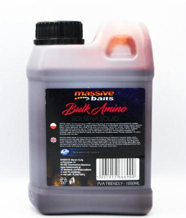 Massive Baits - Liquido - BULK AMINO Bolsena Squid