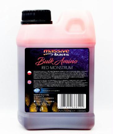 Massive Baits - Liquido - BULK AMINO Red Monstrum