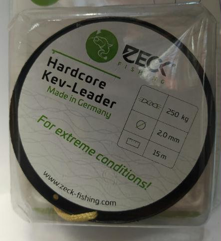 Zeck Hardcoer Kev-Leader 2mm - 250Kg - 15mts