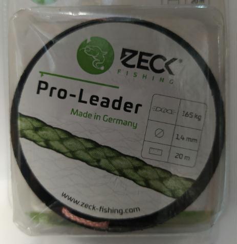 Zeck Pro-Leader 1,4mm - 165Kg - 20mts