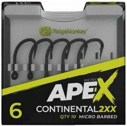 RidgeMonkey - Anzuelos Ape-X Continental 2XX